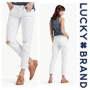 Lucky Brand •NWT• Sienna Slim Boyfriend Jeans 27